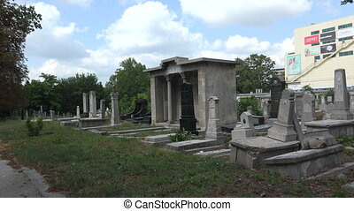 Destroyed the graves at the Jewish cemetery. Varna. Bulgaria.