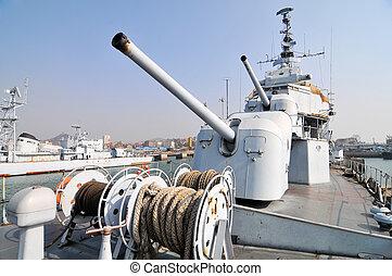 Destroyer artillery