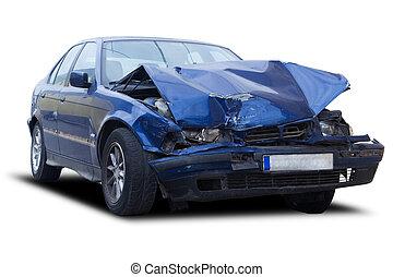 destrozar, coche