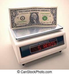 desvalorização, de, a, real