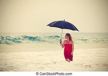 deszcz, ciężki
