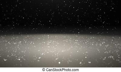 deszcz, cząstka, abstrakcyjny