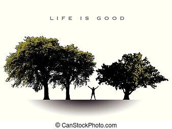 det her liv, gode, lykkelige, mand