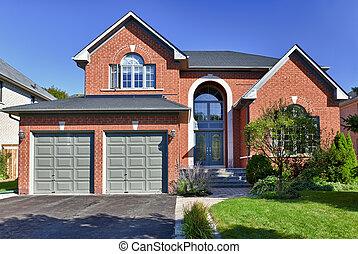 Detached suburban home