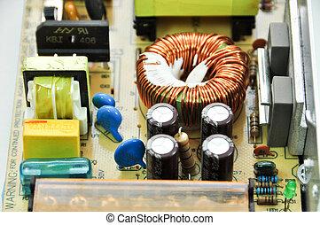 detail electronic circuit board