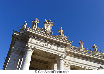 Detail from the Vatican in Rome