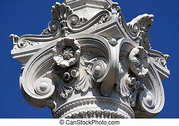 Vittoriano monument - Detail from the Vittoriano monument in...
