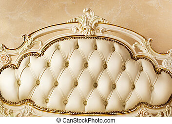 detail., interno, lusso, mobilia