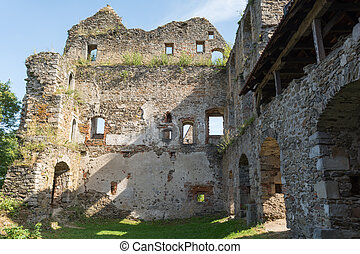 detail knight's castle Schaumburg - austria