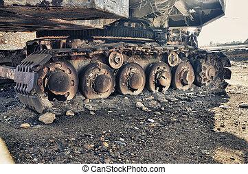 Detail mining big machines backhoe