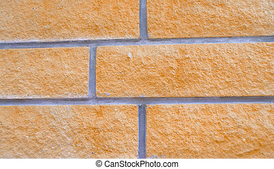 detail of a brick wall