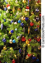 Detail of a Christmas Tree