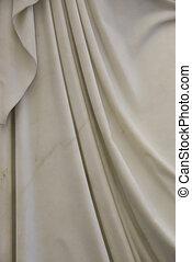 sculpture - detail of a classical sculpture