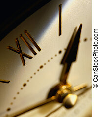 Detail of a Clock