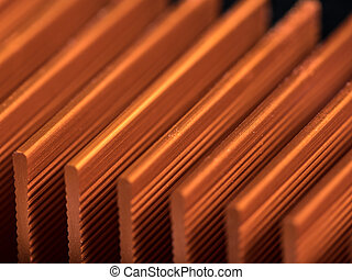 Detail of a cooling element of an circuit board