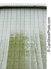 detail of a cooling tower