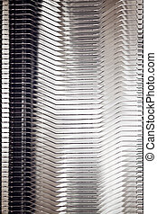 cooler - detail of a cpu cooler