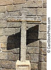 Detail of a cross
