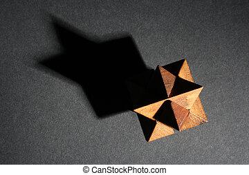 Detail of a jigsaw