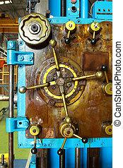 Detail of a machine