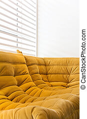 detail of a modern living room