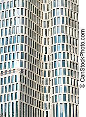 Detail of a modern skyscraper