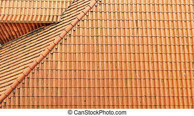 Detail of a roof