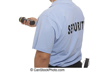 security guard - detail of a security guard