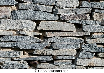 Detail of a stone wall background