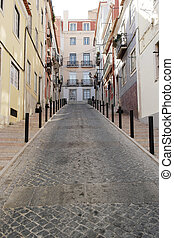 Detail of a street, Lisbon,Portugal