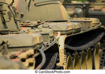detail of a tank
