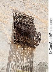 detail of a tunisian window