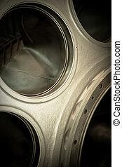 turbine - detail of a turbine
