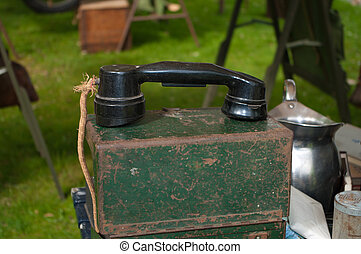 old army telephone
