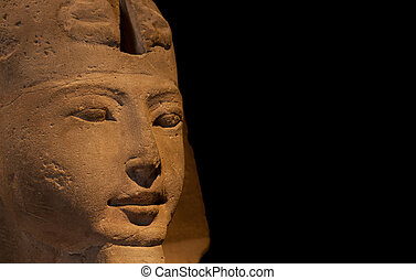 Detail of an Egyptian Sphinx - Ramesside Period