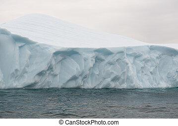 Detail of an iceberg