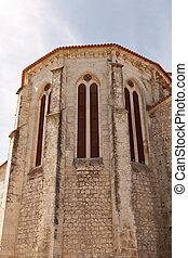 Detail of an old church in Portugal