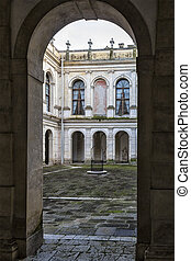 Old Historical Building in Italy