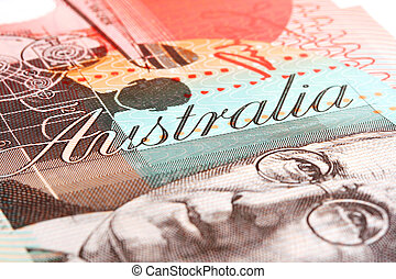 Detail of Australian Twenty Dollar Note - Detail of ...