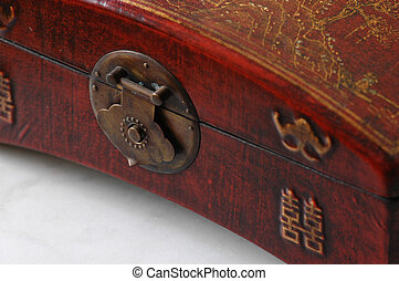 Detail of beautiful Chinese box