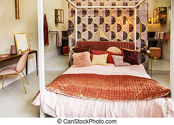 bedroom in country style