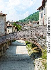 Gubbio town in Umbria Italy