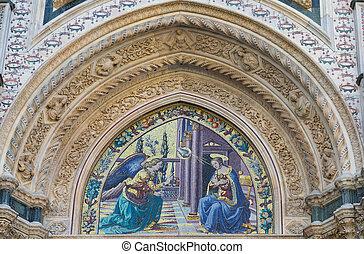Detail of Cathedral Santa Maria del Fiore