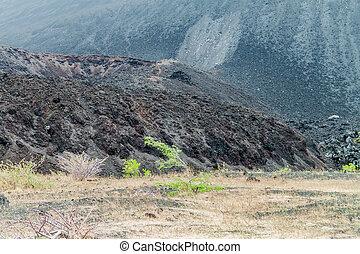 Detail of Cerro Negro volcano, Nicaragua