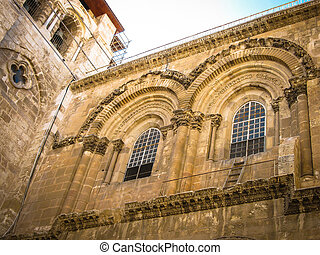 Church of the Holy Sepulchre in Old City of Jerusalem