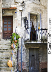 Detail of Corsica Architecture