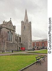 Detail of Dublin Architecture, Ireland