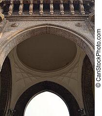 Detail of Gateway of India, Mumbai