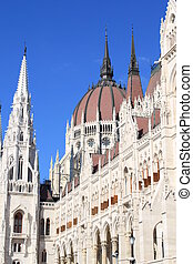 Detail of Hungarian Parliament
