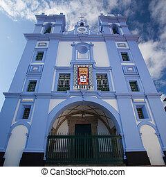 Detail of Igreja da Misericordia,Azores - Detail of Igreja...